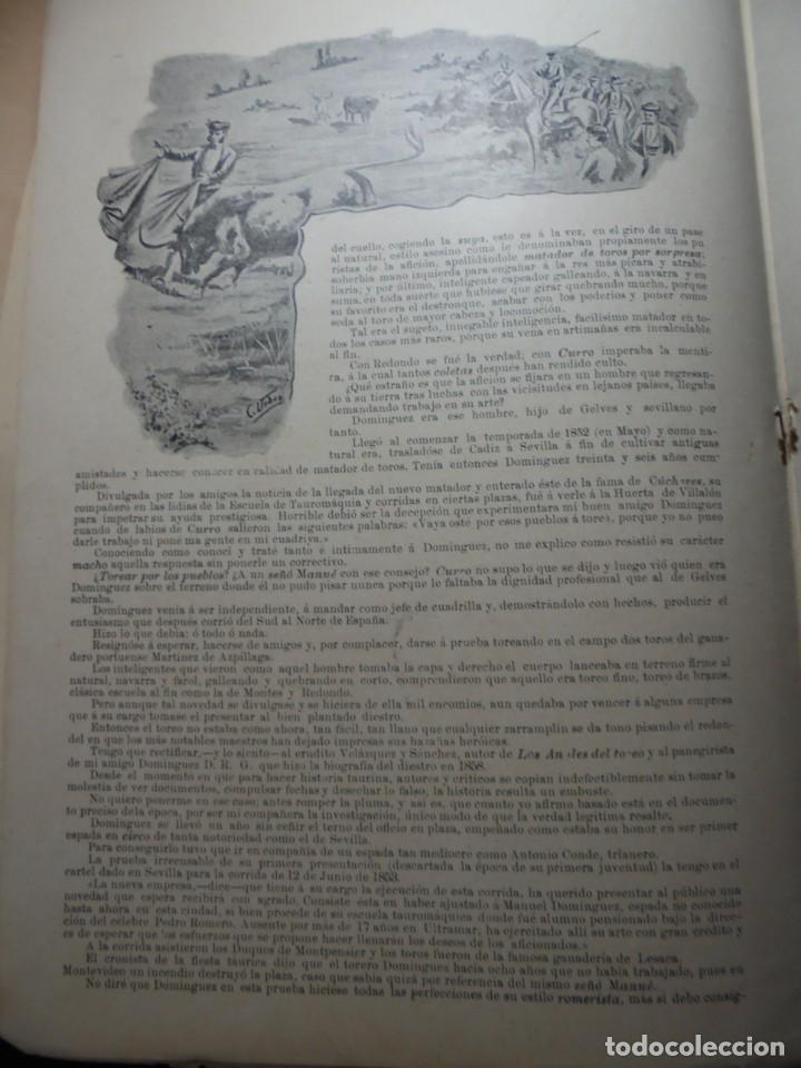 Tauromaquia: magnificas 8 revistas antiguas la ilustracion taurina del 1901 - Foto 103 - 247329780