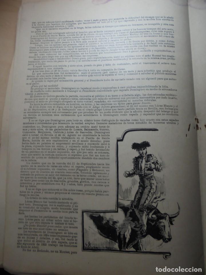 Tauromaquia: magnificas 8 revistas antiguas la ilustracion taurina del 1901 - Foto 105 - 247329780