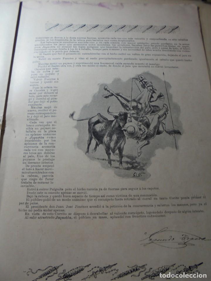 Tauromaquia: magnificas 8 revistas antiguas la ilustracion taurina del 1901 - Foto 108 - 247329780