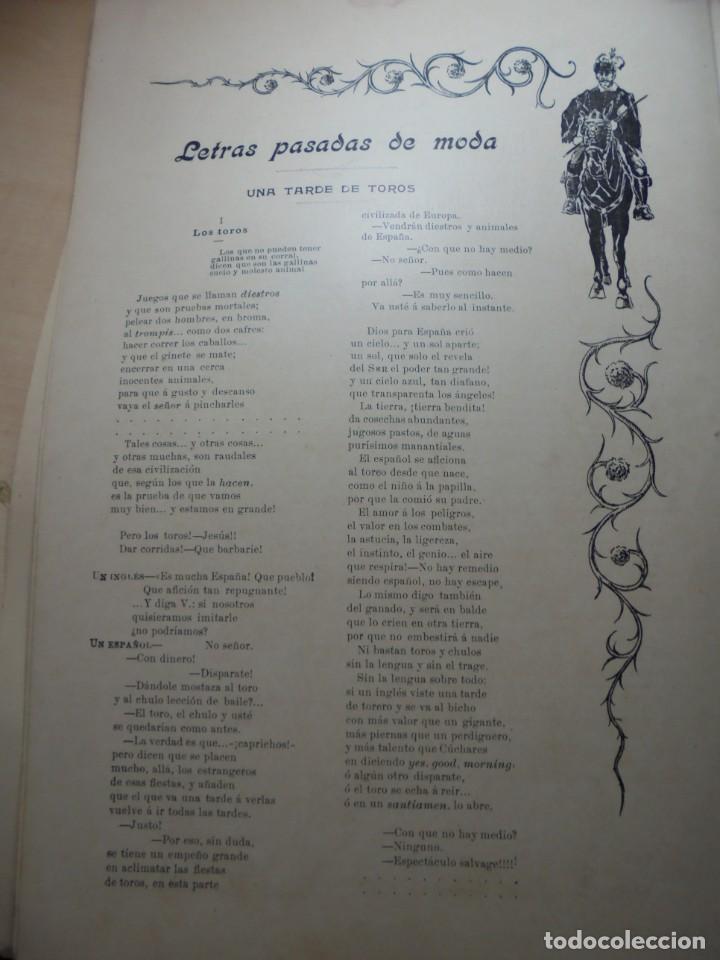 Tauromaquia: magnificas 8 revistas antiguas la ilustracion taurina del 1901 - Foto 109 - 247329780
