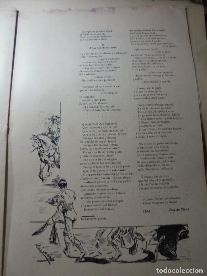 Tauromaquia: magnificas 8 revistas antiguas la ilustracion taurina del 1901 - Foto 110 - 247329780
