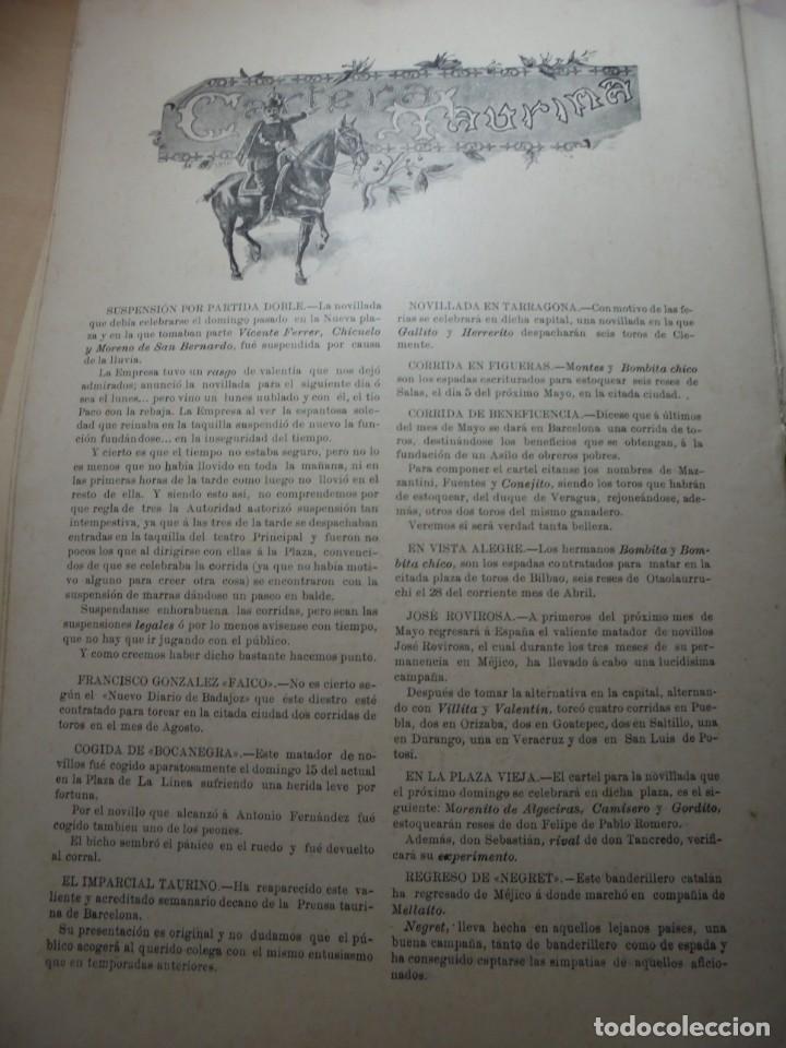 Tauromaquia: magnificas 8 revistas antiguas la ilustracion taurina del 1901 - Foto 111 - 247329780