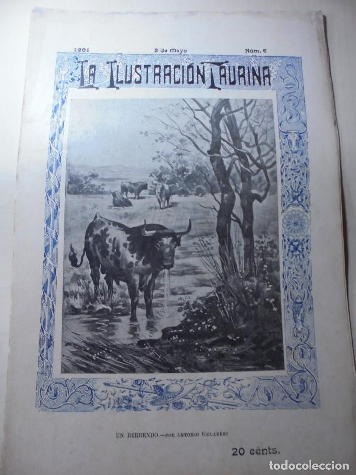 Tauromaquia: magnificas 8 revistas antiguas la ilustracion taurina del 1901 - Foto 114 - 247329780