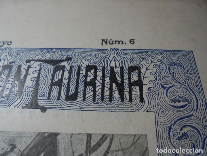 Tauromaquia: magnificas 8 revistas antiguas la ilustracion taurina del 1901 - Foto 115 - 247329780