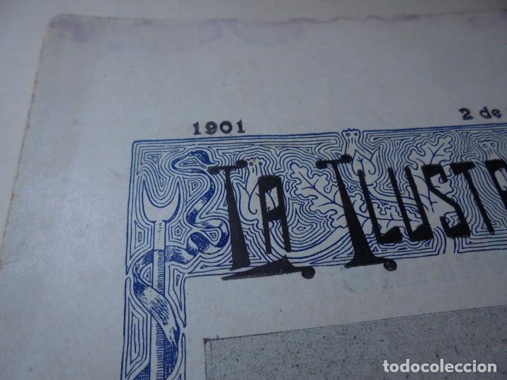 Tauromaquia: magnificas 8 revistas antiguas la ilustracion taurina del 1901 - Foto 116 - 247329780