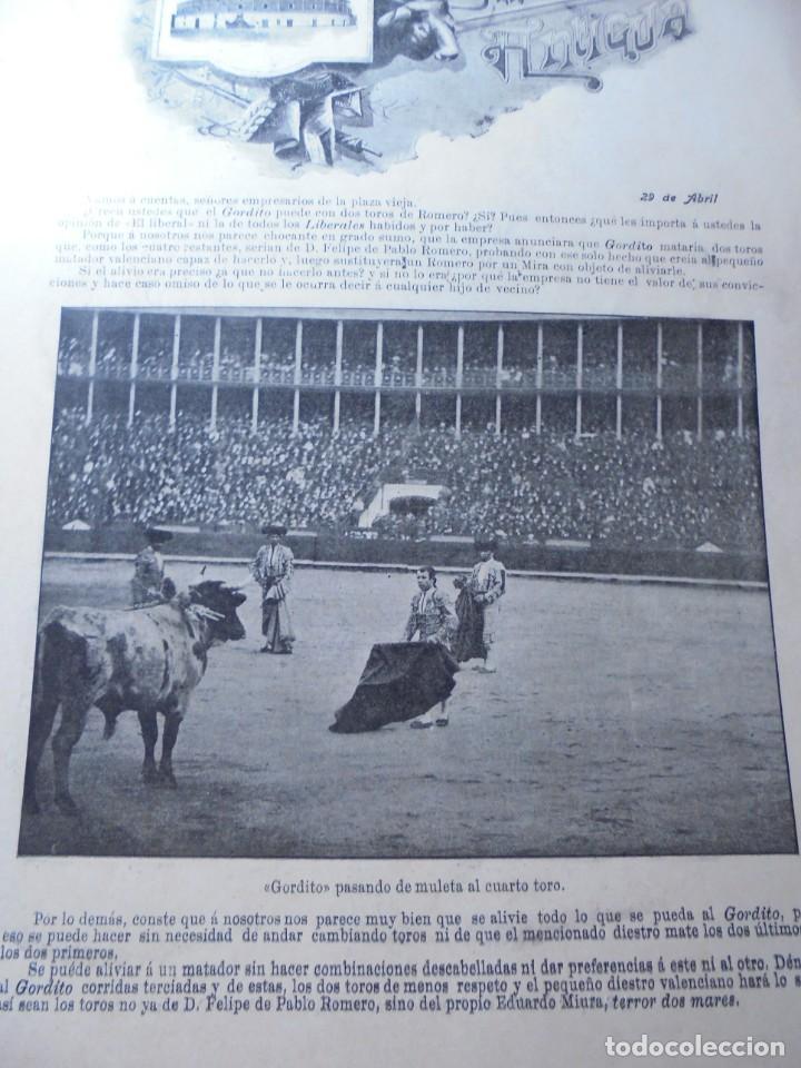 Tauromaquia: magnificas 8 revistas antiguas la ilustracion taurina del 1901 - Foto 120 - 247329780