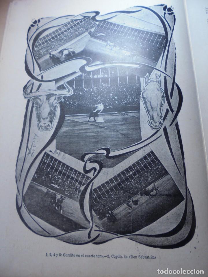 Tauromaquia: magnificas 8 revistas antiguas la ilustracion taurina del 1901 - Foto 121 - 247329780