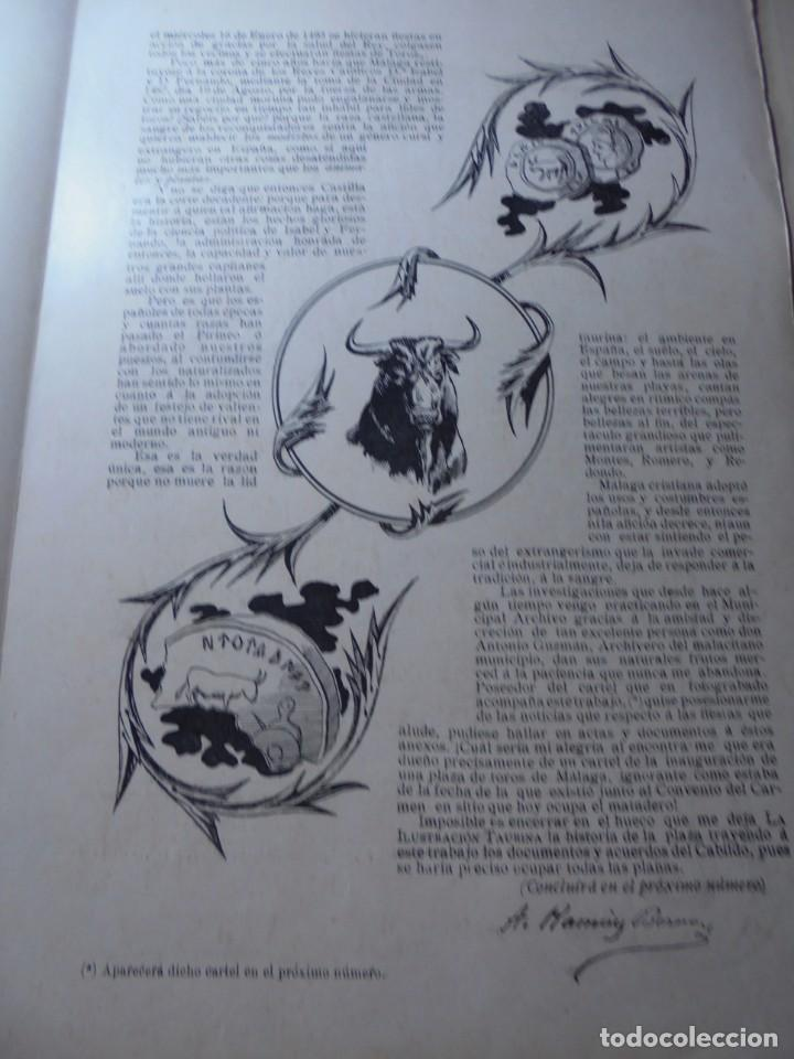 Tauromaquia: magnificas 8 revistas antiguas la ilustracion taurina del 1901 - Foto 124 - 247329780