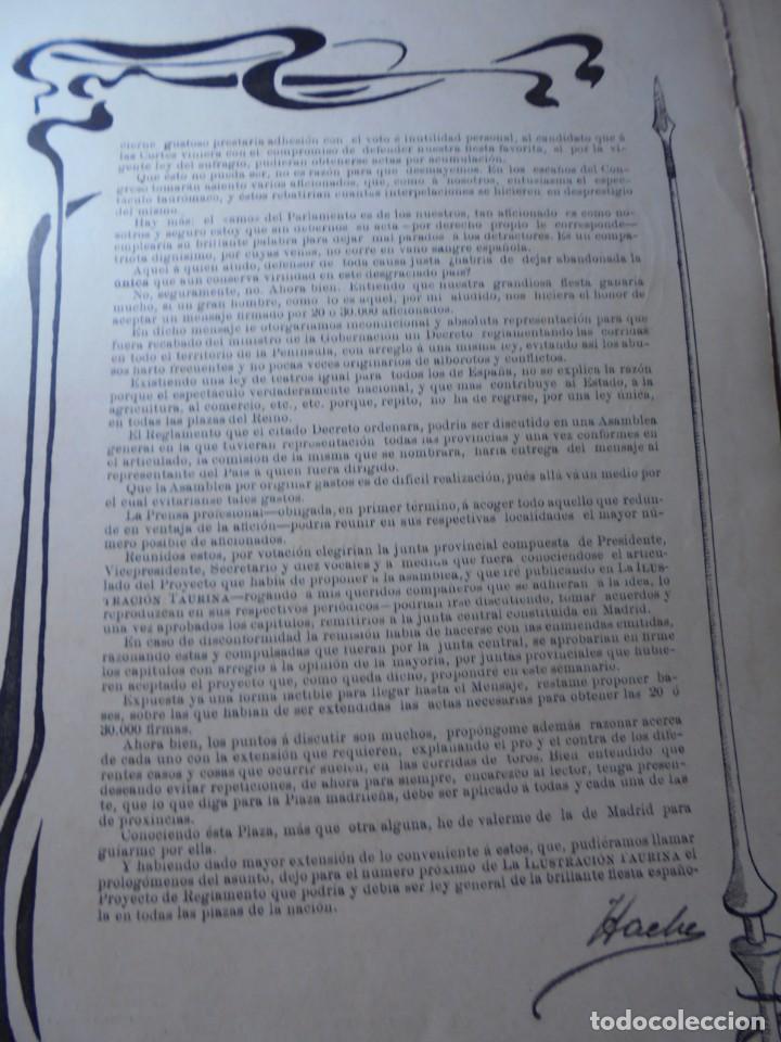 Tauromaquia: magnificas 8 revistas antiguas la ilustracion taurina del 1901 - Foto 126 - 247329780