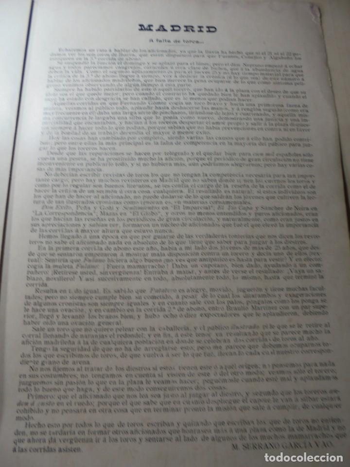 Tauromaquia: magnificas 8 revistas antiguas la ilustracion taurina del 1901 - Foto 128 - 247329780