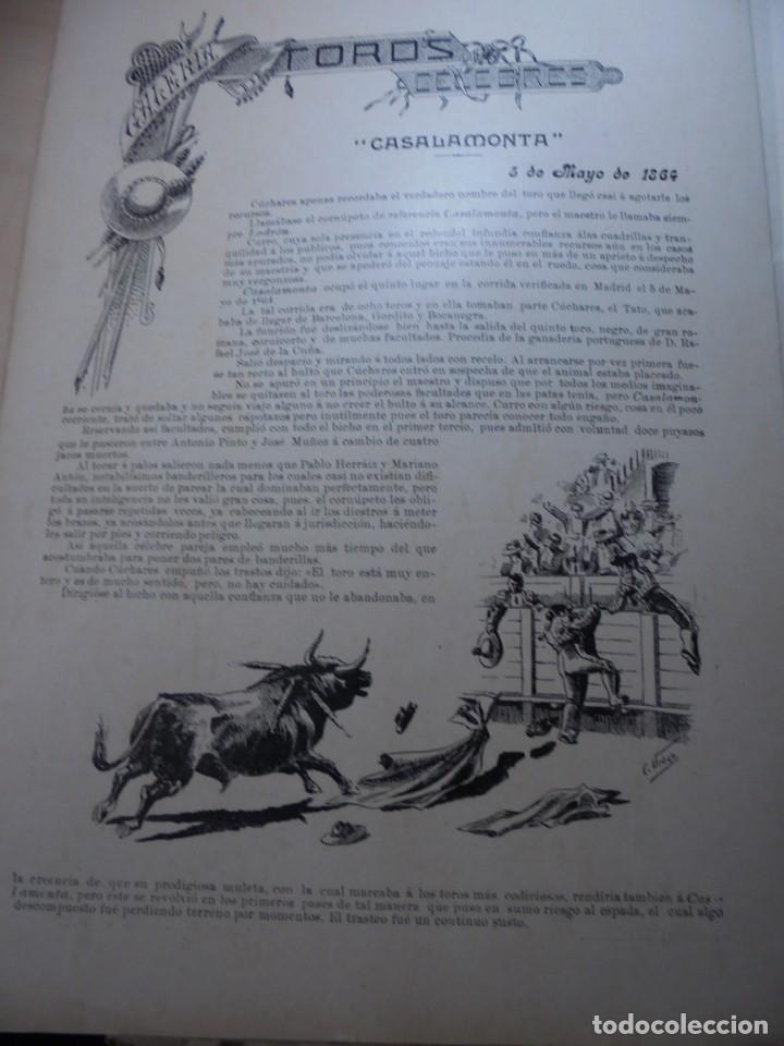 Tauromaquia: magnificas 8 revistas antiguas la ilustracion taurina del 1901 - Foto 129 - 247329780