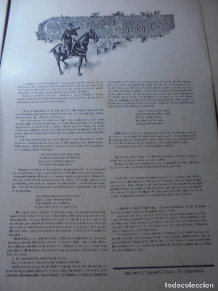 Tauromaquia: magnificas 8 revistas antiguas la ilustracion taurina del 1901 - Foto 132 - 247329780