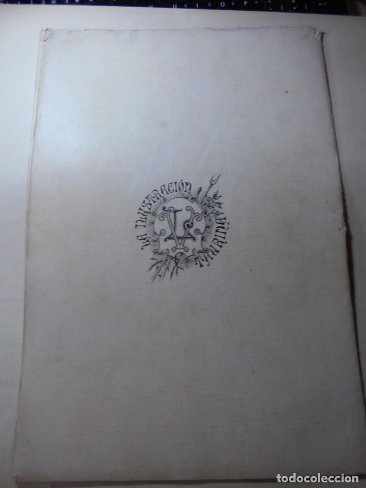 Tauromaquia: magnificas 8 revistas antiguas la ilustracion taurina del 1901 - Foto 133 - 247329780