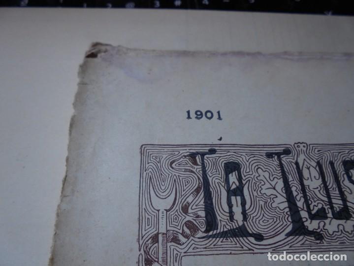 Tauromaquia: magnificas 8 revistas antiguas la ilustracion taurina del 1901 - Foto 136 - 247329780