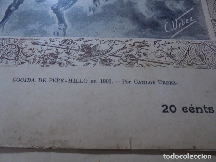 Tauromaquia: magnificas 8 revistas antiguas la ilustracion taurina del 1901 - Foto 137 - 247329780