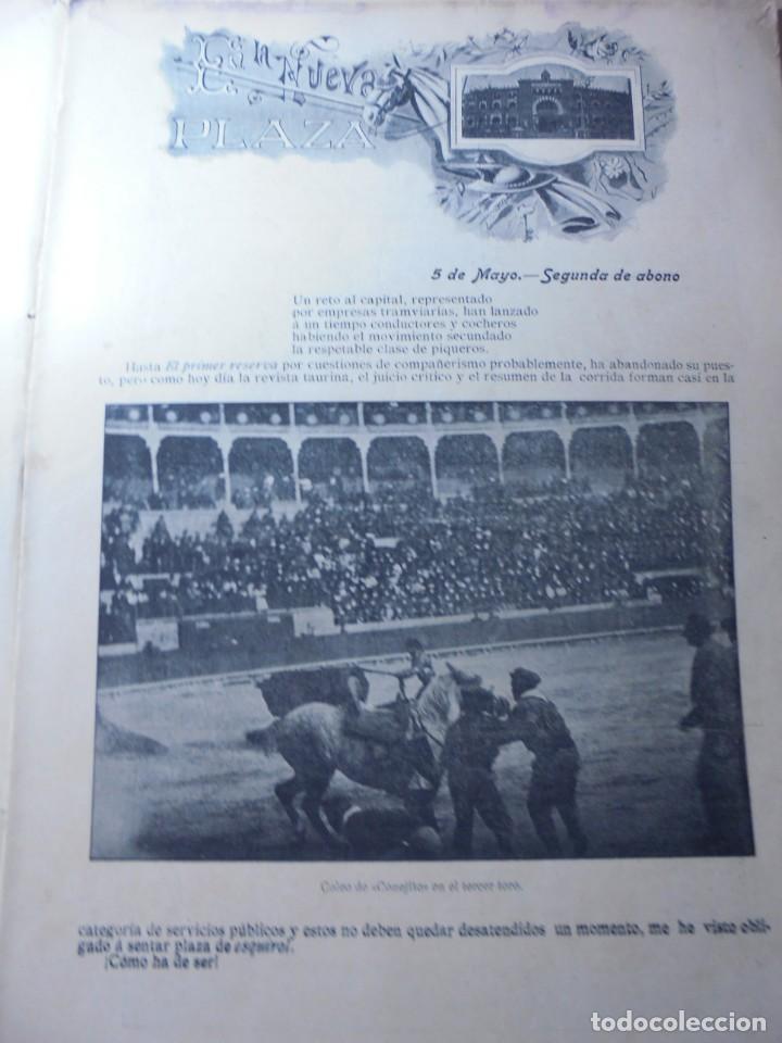 Tauromaquia: magnificas 8 revistas antiguas la ilustracion taurina del 1901 - Foto 140 - 247329780