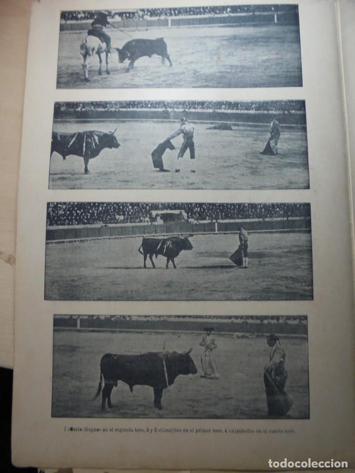 Tauromaquia: magnificas 8 revistas antiguas la ilustracion taurina del 1901 - Foto 141 - 247329780