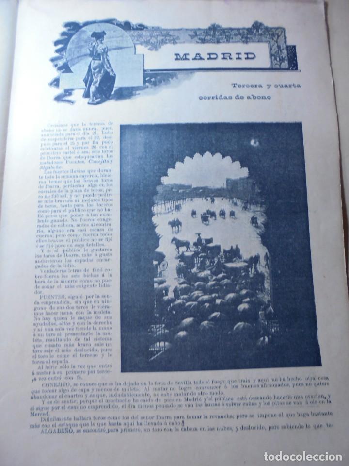 Tauromaquia: magnificas 8 revistas antiguas la ilustracion taurina del 1901 - Foto 144 - 247329780