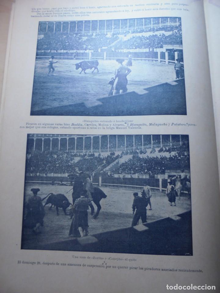 Tauromaquia: magnificas 8 revistas antiguas la ilustracion taurina del 1901 - Foto 145 - 247329780