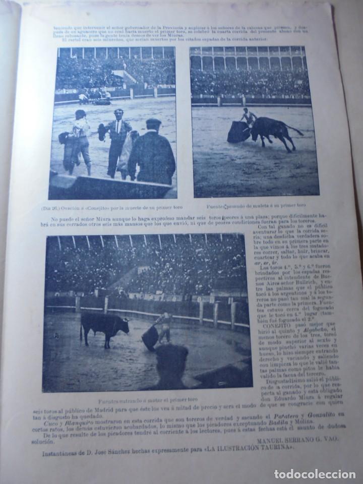Tauromaquia: magnificas 8 revistas antiguas la ilustracion taurina del 1901 - Foto 146 - 247329780