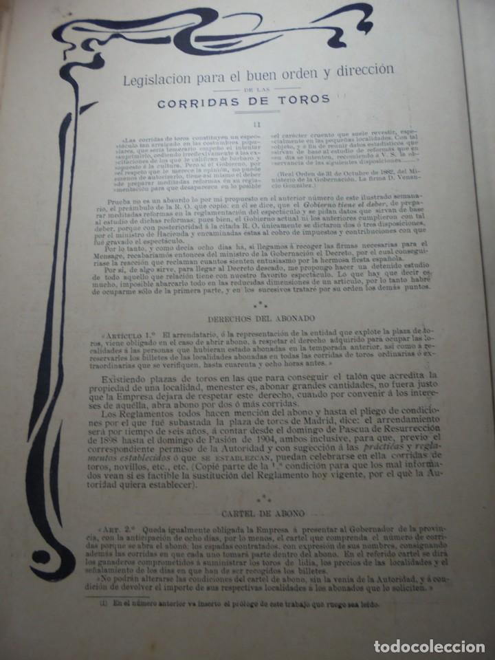 Tauromaquia: magnificas 8 revistas antiguas la ilustracion taurina del 1901 - Foto 147 - 247329780