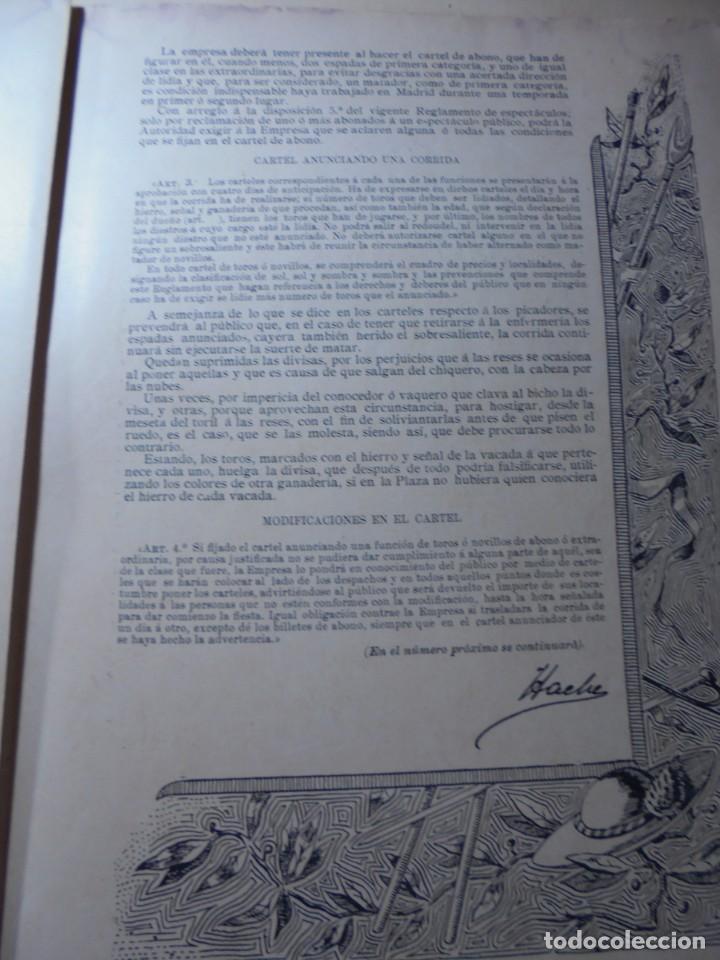 Tauromaquia: magnificas 8 revistas antiguas la ilustracion taurina del 1901 - Foto 148 - 247329780