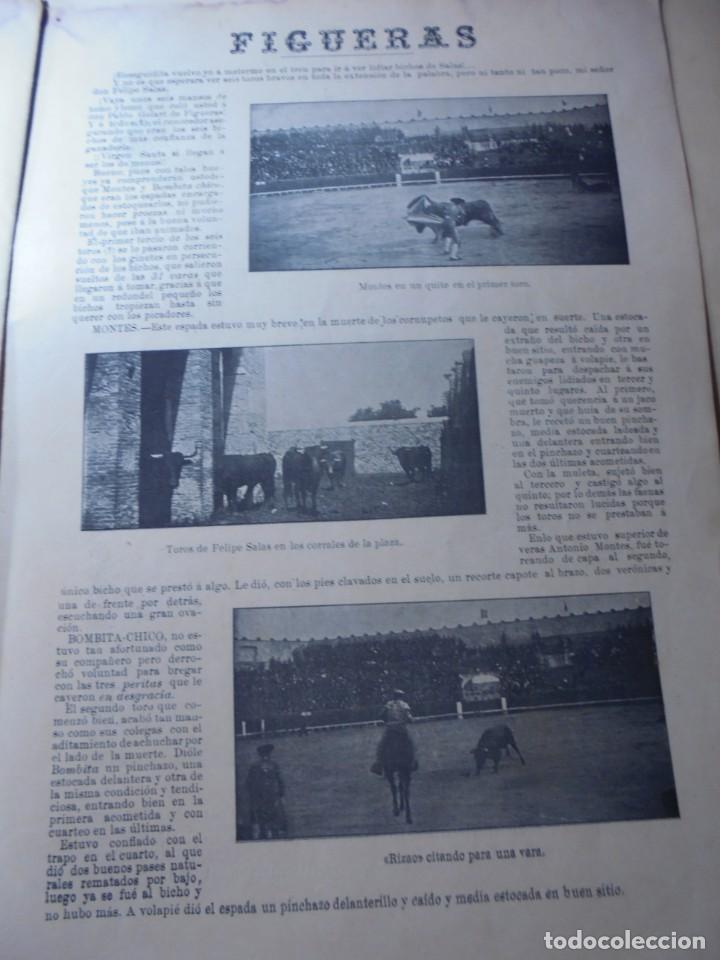 Tauromaquia: magnificas 8 revistas antiguas la ilustracion taurina del 1901 - Foto 150 - 247329780