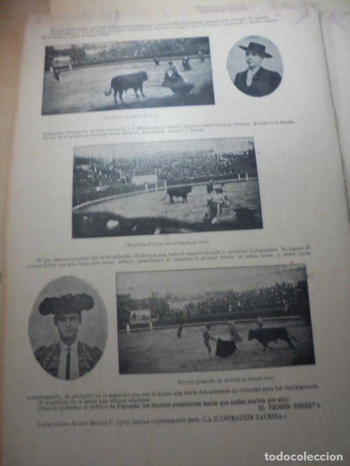 Tauromaquia: magnificas 8 revistas antiguas la ilustracion taurina del 1901 - Foto 151 - 247329780