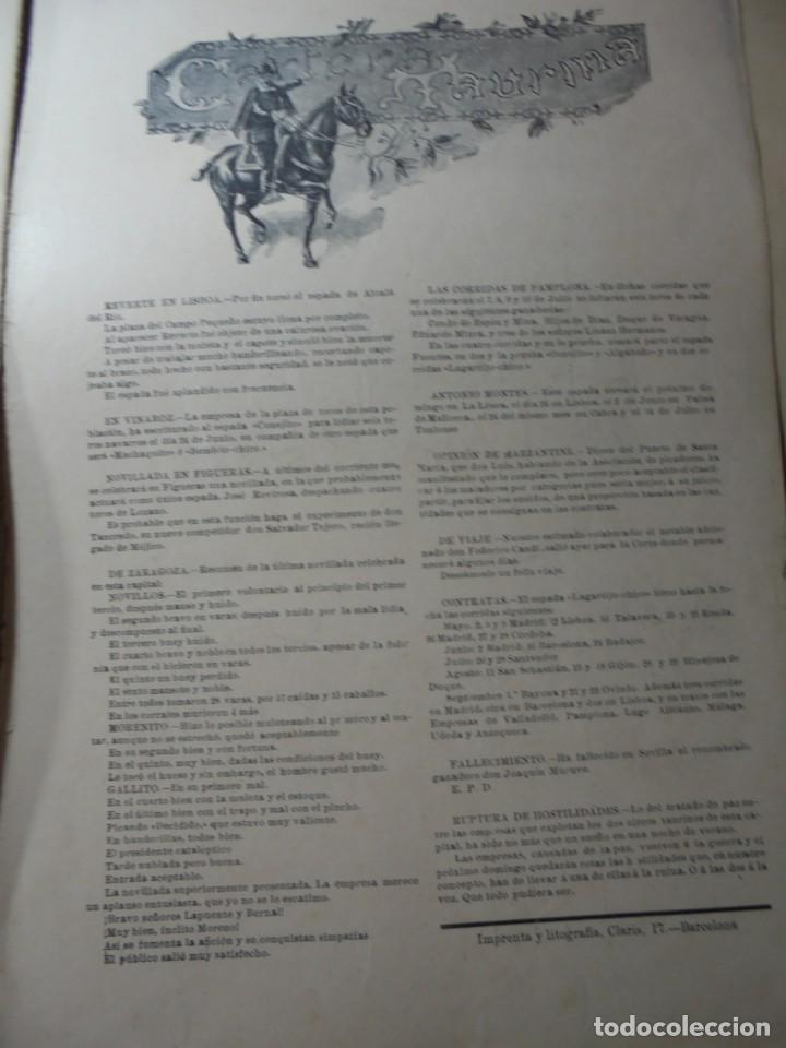 Tauromaquia: magnificas 8 revistas antiguas la ilustracion taurina del 1901 - Foto 152 - 247329780