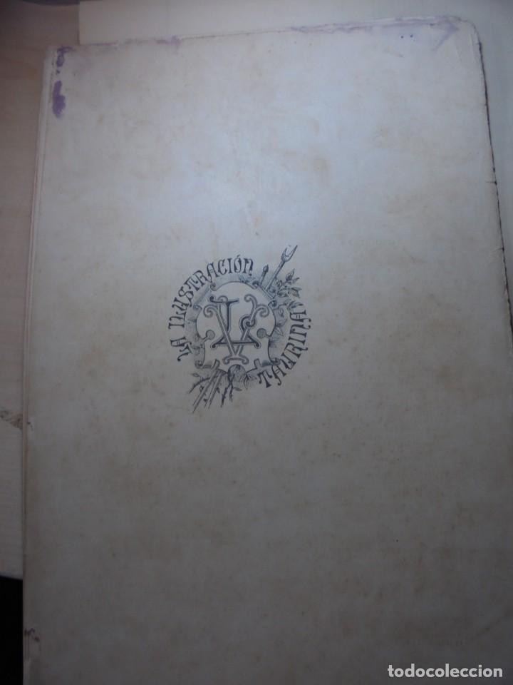 Tauromaquia: magnificas 8 revistas antiguas la ilustracion taurina del 1901 - Foto 153 - 247329780