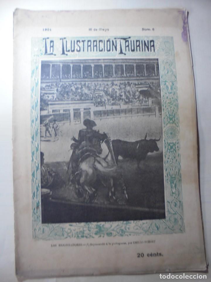 Tauromaquia: magnificas 8 revistas antiguas la ilustracion taurina del 1901 - Foto 154 - 247329780