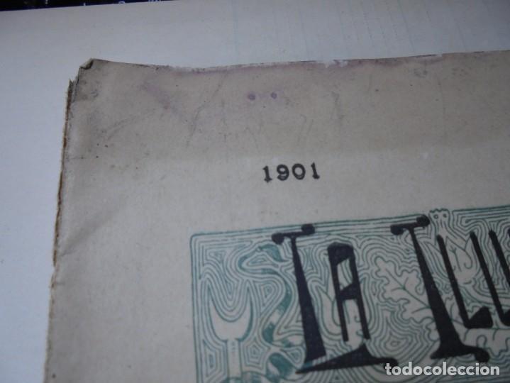 Tauromaquia: magnificas 8 revistas antiguas la ilustracion taurina del 1901 - Foto 156 - 247329780