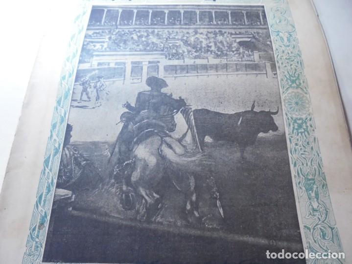 Tauromaquia: magnificas 8 revistas antiguas la ilustracion taurina del 1901 - Foto 158 - 247329780