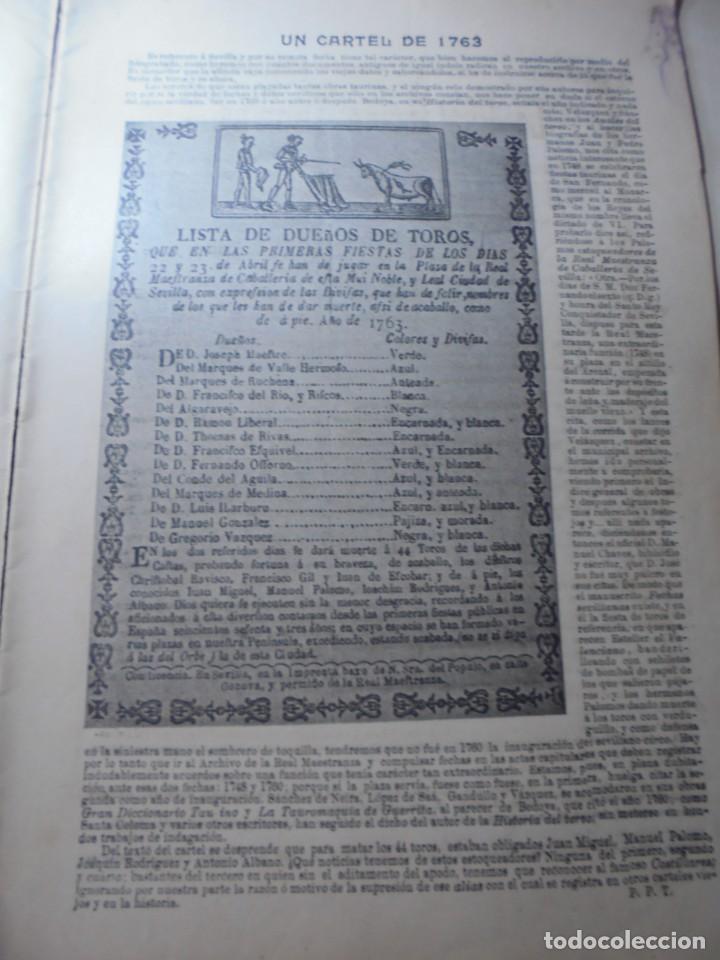 Tauromaquia: magnificas 8 revistas antiguas la ilustracion taurina del 1901 - Foto 160 - 247329780