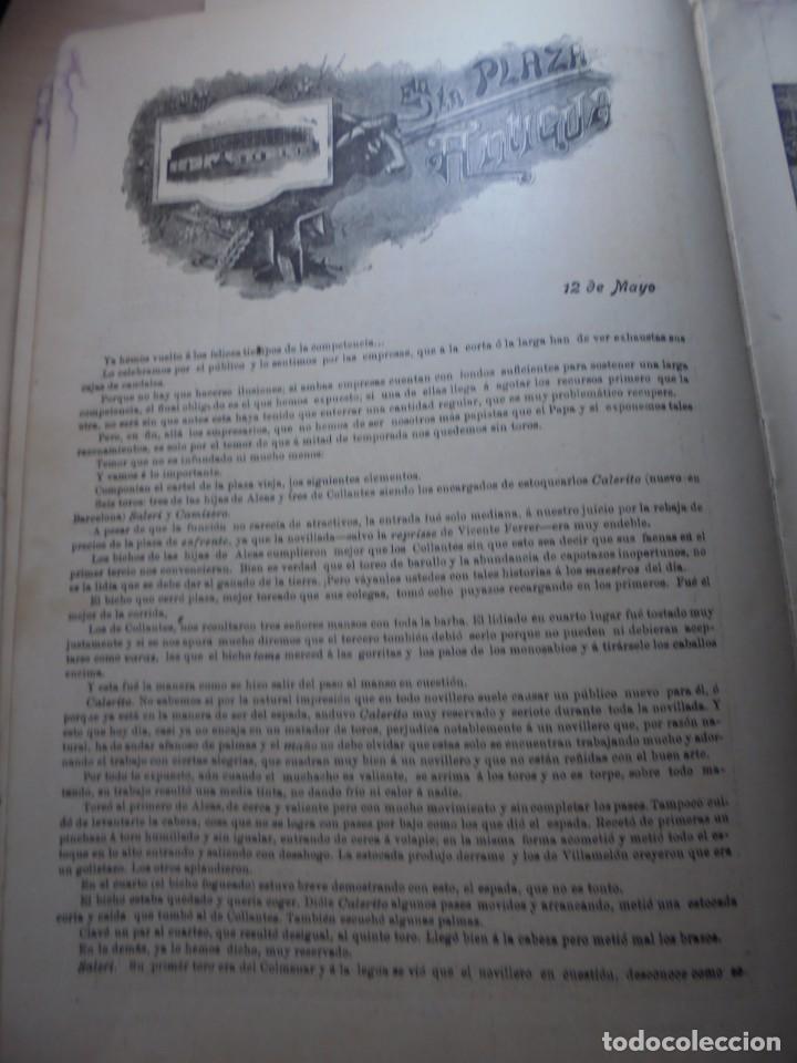 Tauromaquia: magnificas 8 revistas antiguas la ilustracion taurina del 1901 - Foto 161 - 247329780