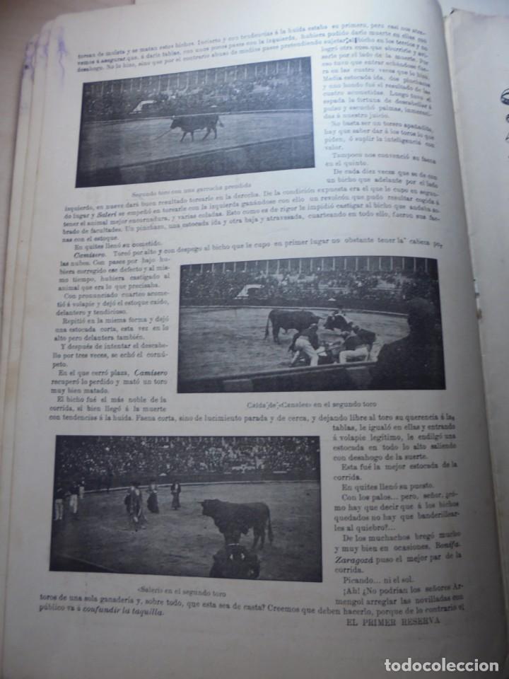 Tauromaquia: magnificas 8 revistas antiguas la ilustracion taurina del 1901 - Foto 163 - 247329780