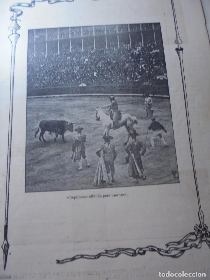 Tauromaquia: magnificas 8 revistas antiguas la ilustracion taurina del 1901 - Foto 164 - 247329780