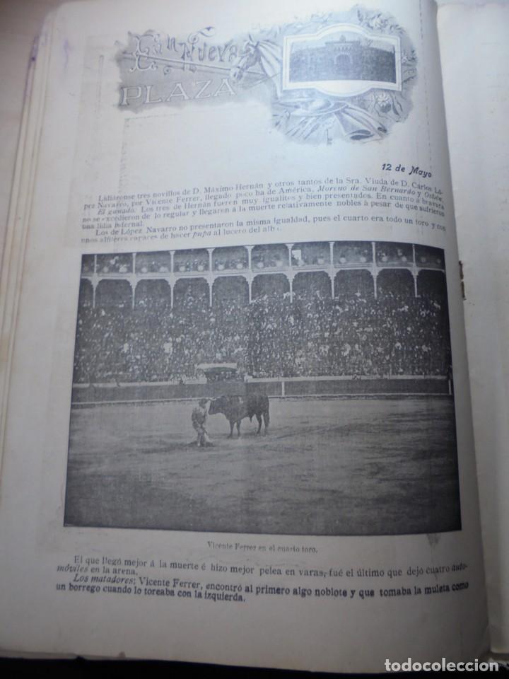 Tauromaquia: magnificas 8 revistas antiguas la ilustracion taurina del 1901 - Foto 165 - 247329780