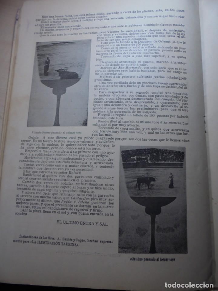 Tauromaquia: magnificas 8 revistas antiguas la ilustracion taurina del 1901 - Foto 167 - 247329780