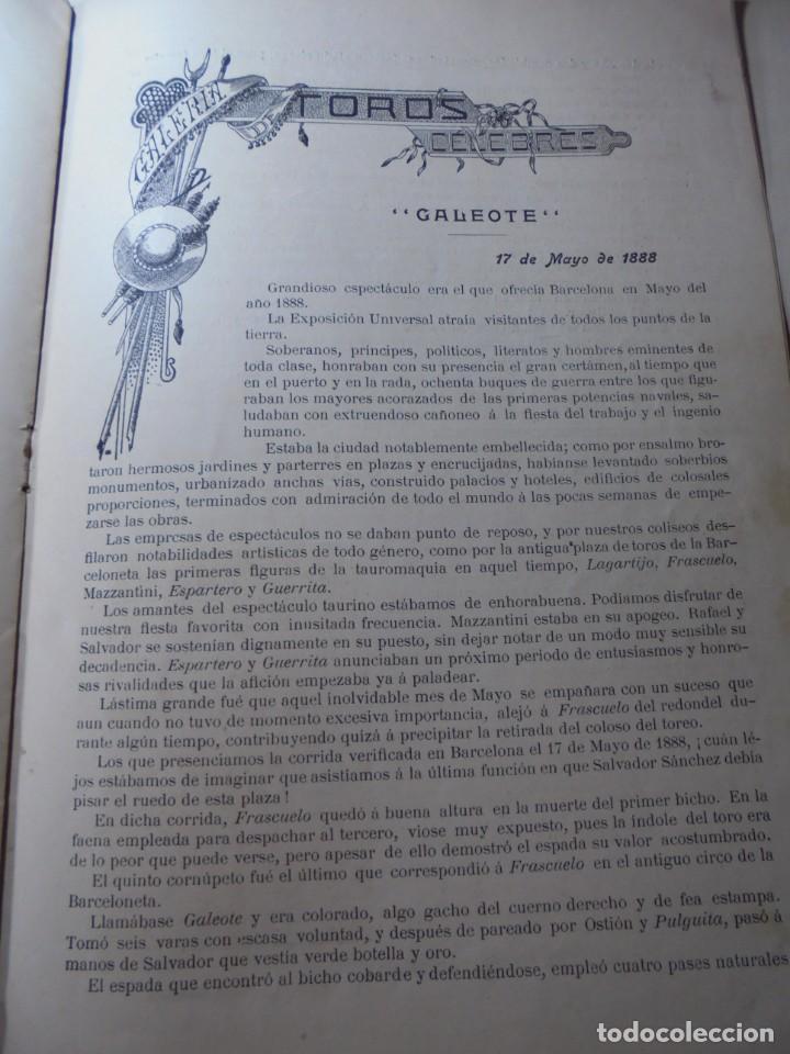 Tauromaquia: magnificas 8 revistas antiguas la ilustracion taurina del 1901 - Foto 168 - 247329780