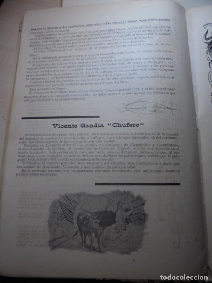 Tauromaquia: magnificas 8 revistas antiguas la ilustracion taurina del 1901 - Foto 169 - 247329780