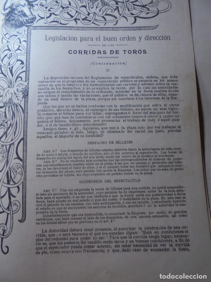 Tauromaquia: magnificas 8 revistas antiguas la ilustracion taurina del 1901 - Foto 170 - 247329780