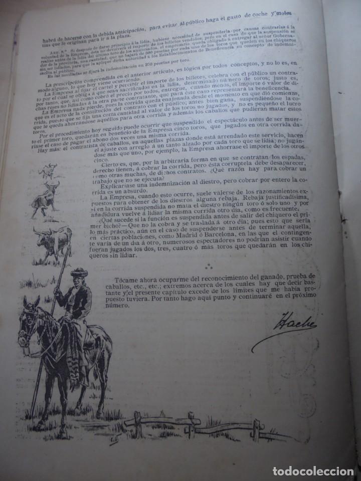 Tauromaquia: magnificas 8 revistas antiguas la ilustracion taurina del 1901 - Foto 171 - 247329780