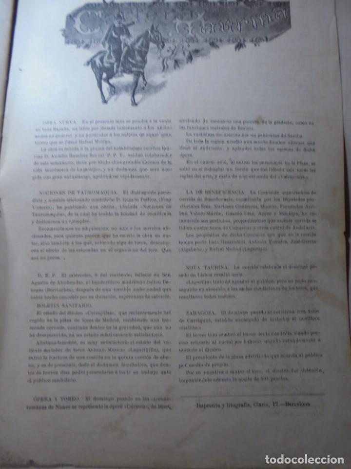 Tauromaquia: magnificas 8 revistas antiguas la ilustracion taurina del 1901 - Foto 172 - 247329780