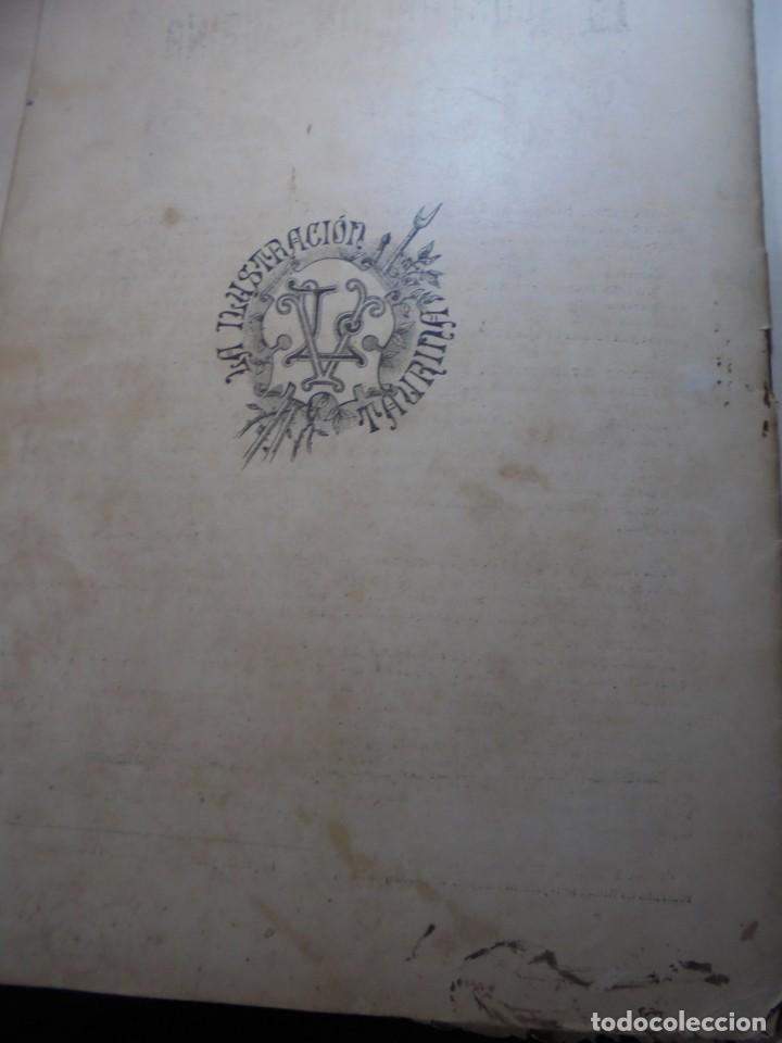 Tauromaquia: magnificas 8 revistas antiguas la ilustracion taurina del 1901 - Foto 173 - 247329780
