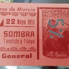 Tauromaquia: ANTIGUA ENTRADA PLAZA DE TOROS DE MURCIA 1955. Lote 248002290