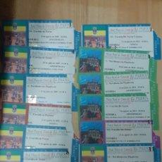 Tauromaquia: 12 ENTRADAS DE LA PLAZA DEL PUERTO, AÑOS 2009, 2010. Lote 248314250
