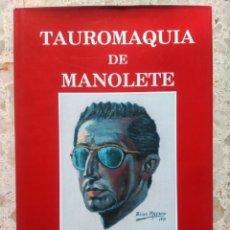 Tauromachia: TAUROMAQUIA DE MANOLETE - PACO LAGUNA - TOMO IV - 1ª EDICIÓN, 1993. Lote 249284960