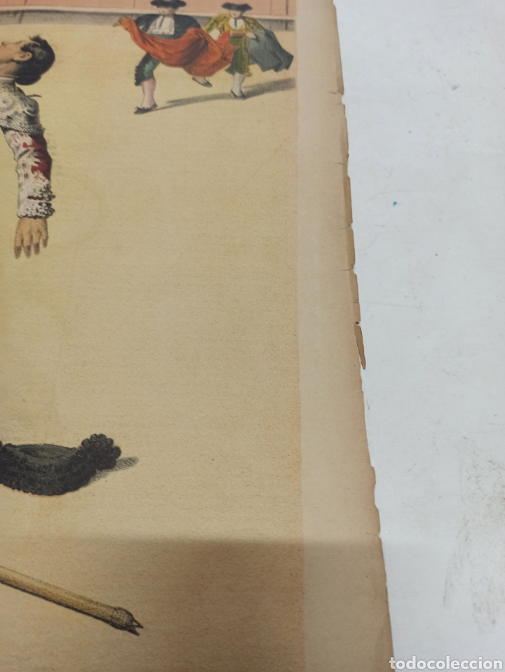 Tauromaquia: LA LIDIA, REVISTA TAURINA, 23 ABRIL 1888, COGIDA Y MUERTE DE SALERI EN MEXICO LIT. J. PALACIOS. - Foto 2 - 261107210