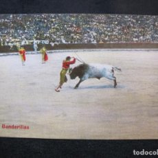 Tauromaquia: CORRIDA DE TOROS-BANDERILLAS-POSTAL ANTIGUA-(80.565). Lote 262628380